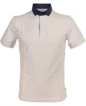 Armani Collezioni White 3XCF57 Short Sleeve Polo