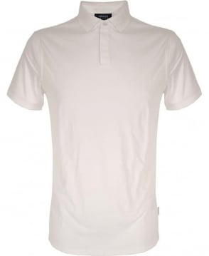 Armani Jeans White 3Y6F28 Short Sleeve Polo Shirt