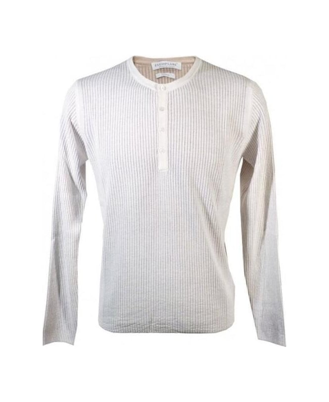 Esemplare White 400223 Ribbed Knitwear Jumper