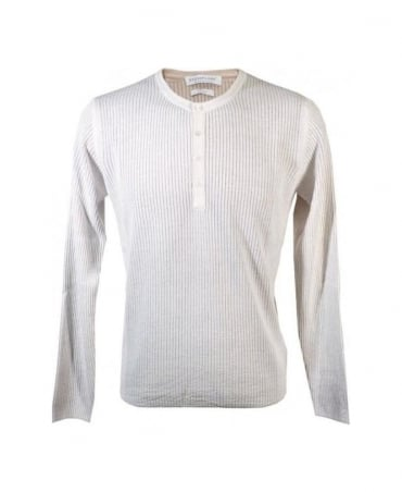 White 400223 Ribbed Knitwear Jumper