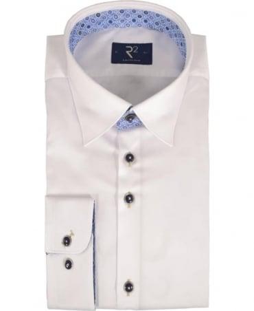 R2 Westbrook White 92 HBD 02 Long Sleeve Shirt