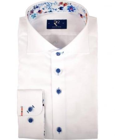 R2 Westbrook White 92 WSP 05 Long Sleeve Shirt