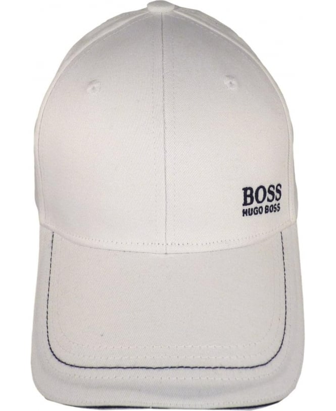 Hugo Boss White 'Cap 1' 50245070 Cap