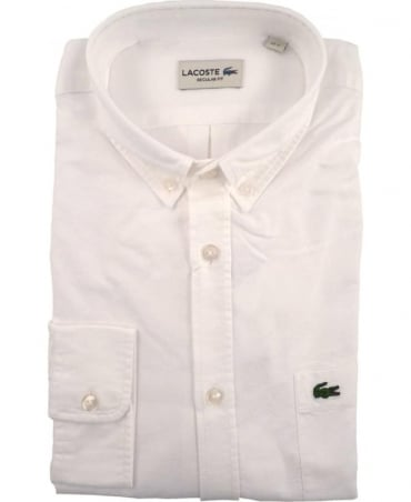 White CH2286 Oxford Cotton Shirt