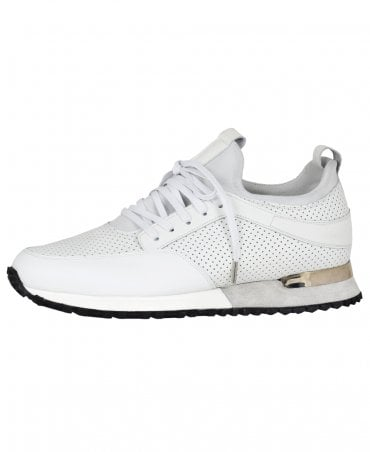 White Contrast Archway Trainer