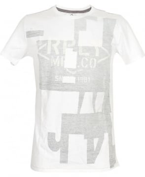 Replay White Crew Neck M6553R T-Shirt