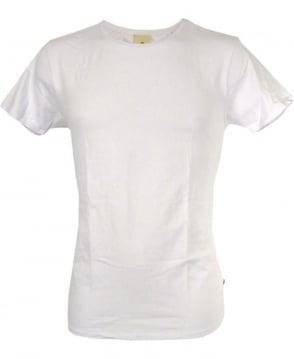 Scotch & Soda White Crew Neck T-Shirt