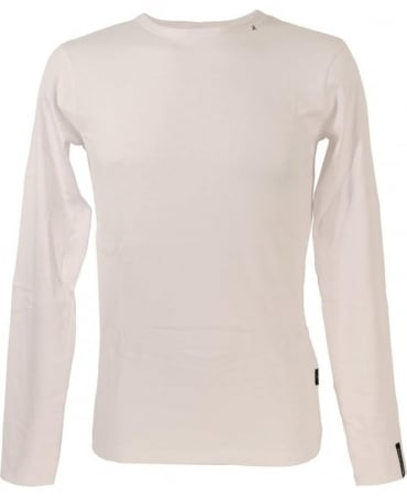 Replay White Crew Neck T-Shirt