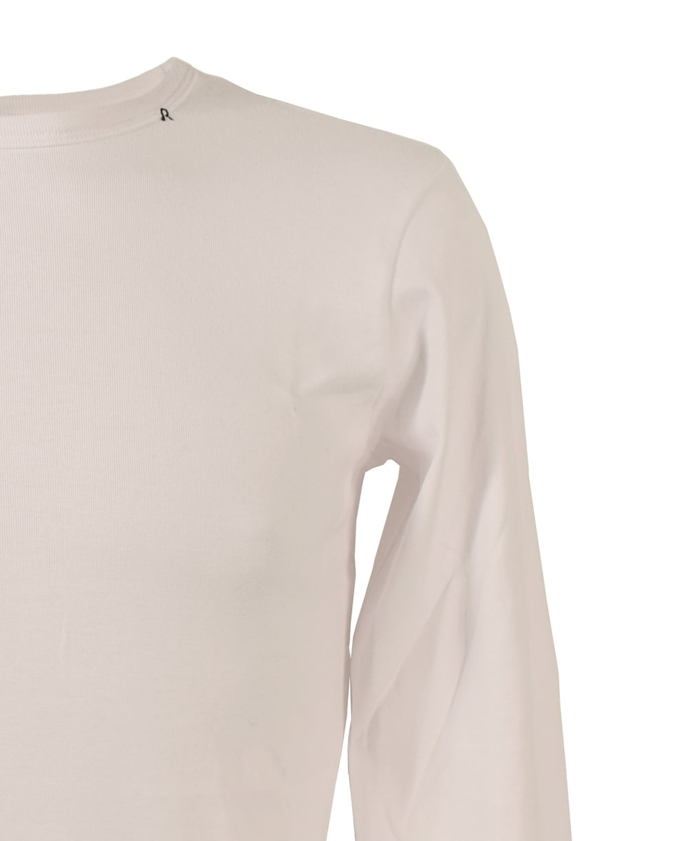 Replay white crew neck t shirt replay from jonathan for Crew neck white t shirt