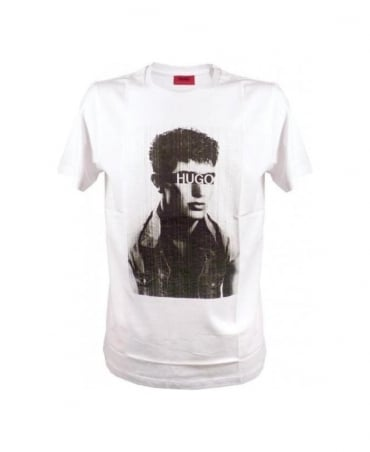Hugo White Dar T-Shirt