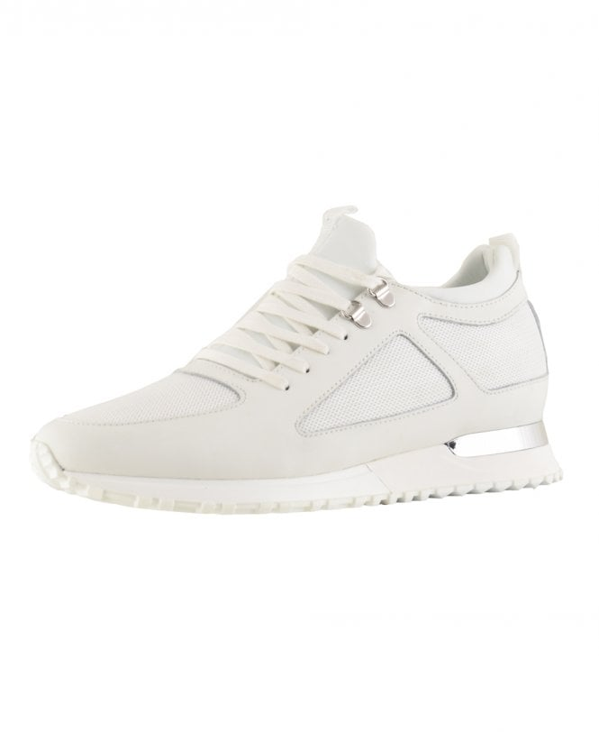 White Diver Contrast Shoes