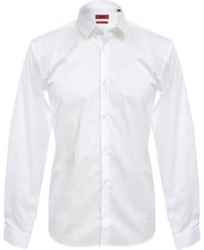 Hugo White Ero Slim Fit Shirt 50237806