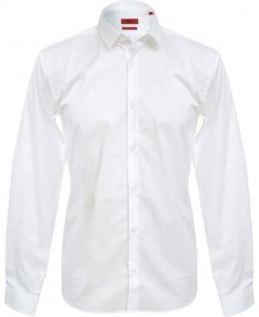 White Ero Slim Fit Shirt 50237806