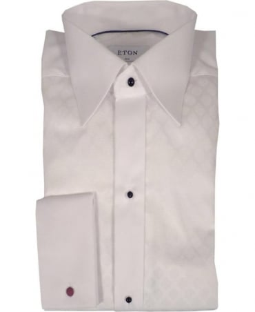 Eton Shirts White Evening Palladium Slim Fit Shirt