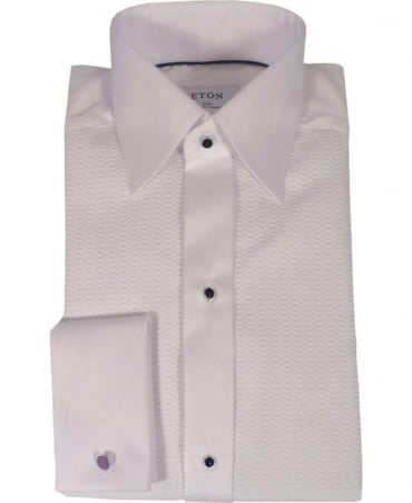 Eton Shirts White Evening Slim Fit Shirt