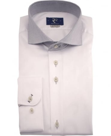R2 Westbrook White Fancy 01 Shirt