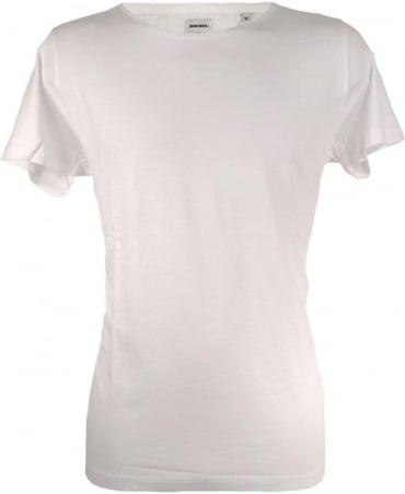 Diesel White Igna Waist Logo T-shirt