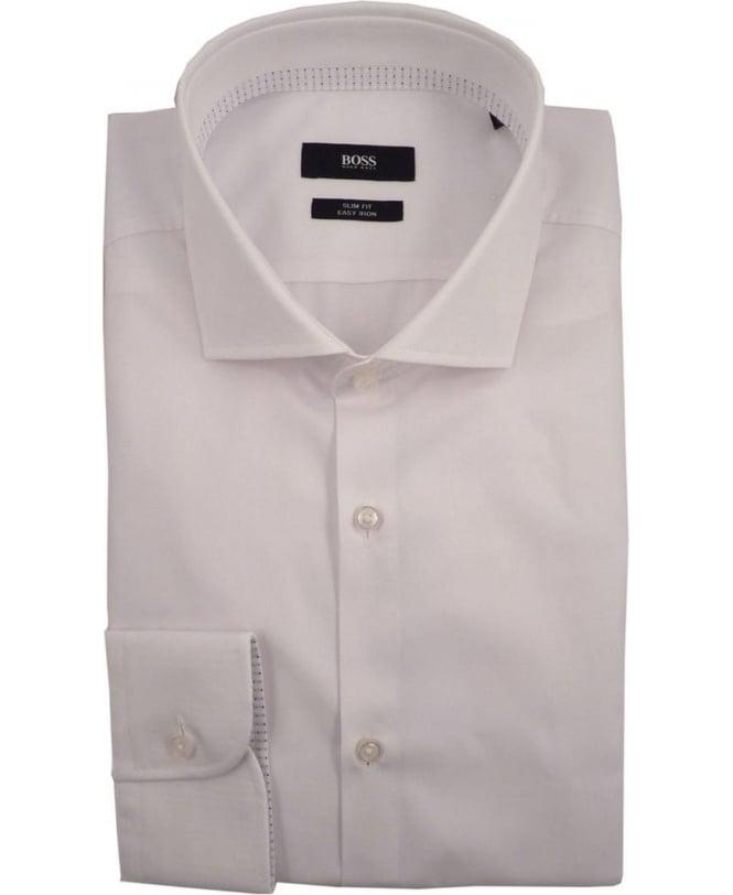 Boss White Shirt Slim Fit