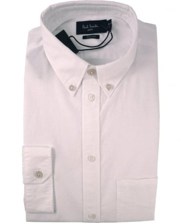 Paul Smith - Jeans White JNFJ-265P-B29 Button Down Shirt