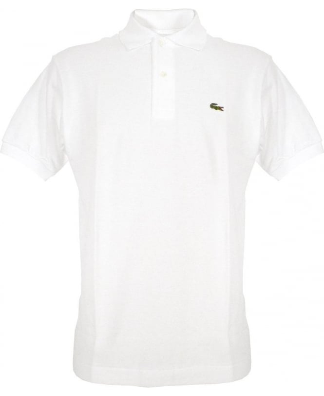 Lacoste White L1212 Polo Shirt