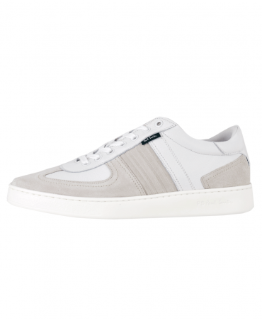 White Leather 'Reemo' Trainers