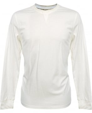 Paul Smith  White Long Sleeve T-Shirt JKRJ/833M/780