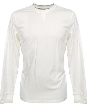 Paul Smith - Red Ear White Long Sleeve T-Shirt JKRJ/833M/780