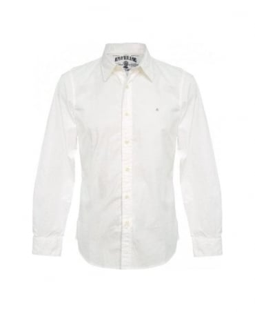 Replay White M4738C Shirt