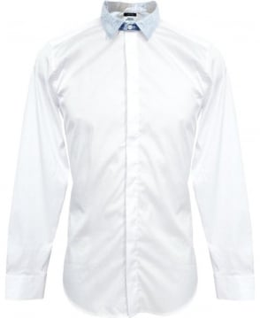Diesel White Mala Slim Fit Shirt