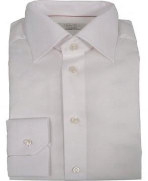 Eton Shirts White Micro-Pattern Poplin 24677931101 Shirt
