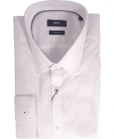 Hugo Boss White Nemos 6 50283749 Slim Fit Shirt