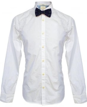 Scotch & Soda White & Pineapple Print Bow Tie 20002 Shirt