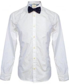 Scotch & Soda White & Pineapple Print Bow Tie 20002 Shirt