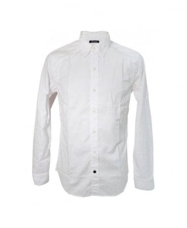 Denham White Pinot Casual Shirt