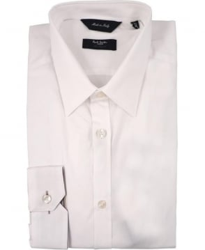 Paul Smith  White PMXL/916M/K01 Signature Stripe Cuff Shirt