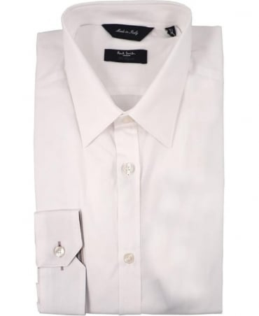 Paul Smith - London White PMXL/916M/K01 Signature Stripe Cuff Shirt