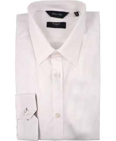 Paul Smith - London White PMXL/916M/K01 Signature Stripe Cuff Shirt