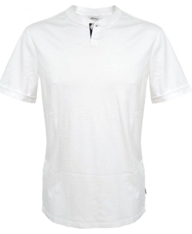Armani Collezioni White Polo NCM54J