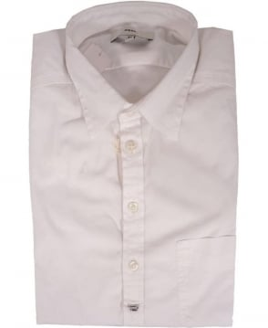 Diesel White Pommy Chest Pocket Shirt