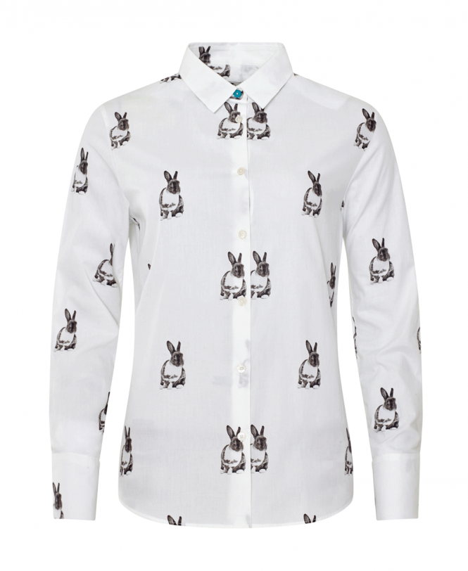 4c71ea4c0 Paul Smith White Rabbit Print Shirt - Shirts from Jonathan Trumbull UK
