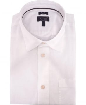 Armani Jeans White Short Sleeve A6C14VB Shirt