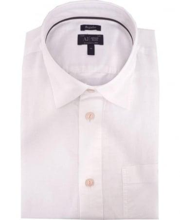 Armani White Short Sleeve A6C14VB Shirt