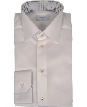 Eton Shirts White Slim Fit 300000580 Shirt