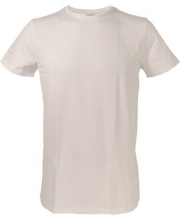 Hugo Boss White Slim Fit Crew Neck 'Ted' T/shirt