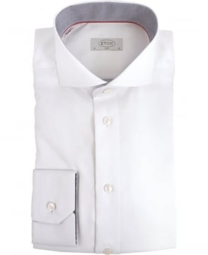 Eton Shirts White Slim Fit Formal Shirt