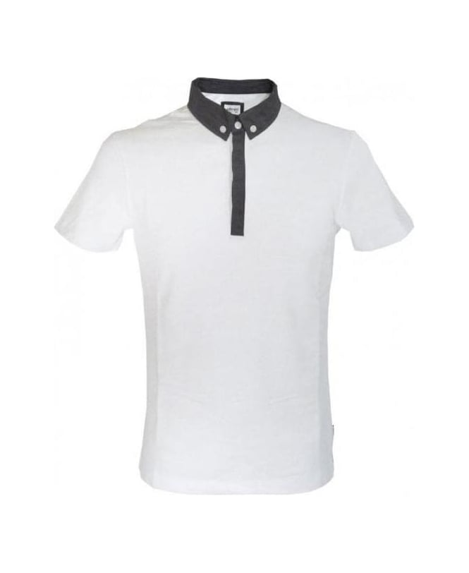 Armani Fit Collezioni Shirt White Polos Slim Jonathan From Polo aAgqaPw6