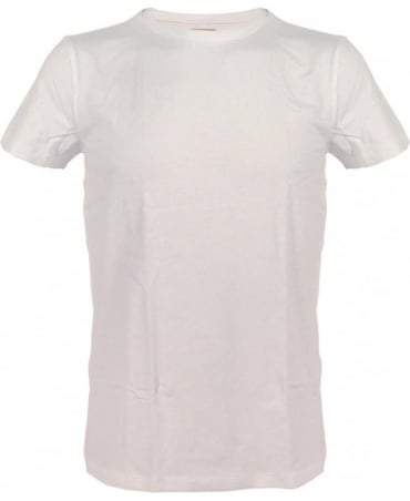 Hugo Boss White Slim Fit 'Tedd' T/Shirt