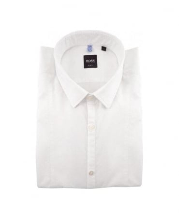 Hugo Boss White Slim Pancho Shirt