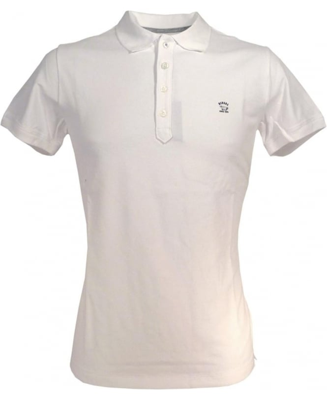 518f974e9 Diesel White T-Yahei Chest Logo Polo - Polos from Jonathan Trumbull UK