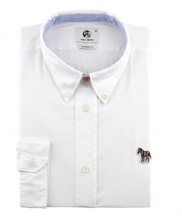 PS By Paul Smith White Tailored Fit PTXD/599R/822Z Shirt